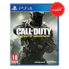 دیسک بازی Call of Duty Infinite Warfare مخصوص PS4 (کارکرده)