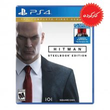 دیسک بازی Hitman SteelBook Edition برای PS4 (کارکرده)