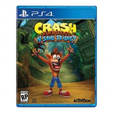 دیسک بازی Crash Bandicoot N Sane Trilogy مخصوص PS4